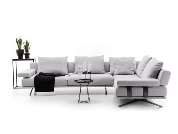 Olta minksti baldai kampine sofa Elixir 8