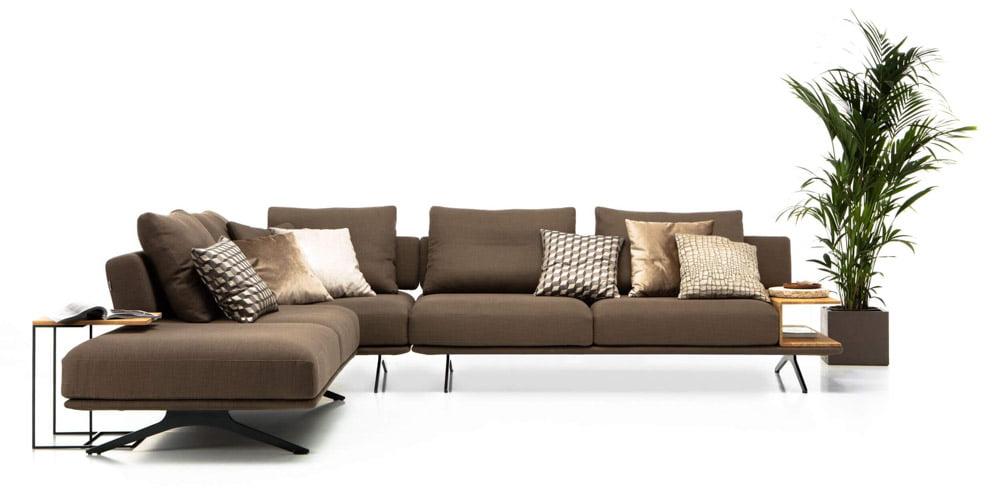 Olta minksti baldai kampine sofa Mystic