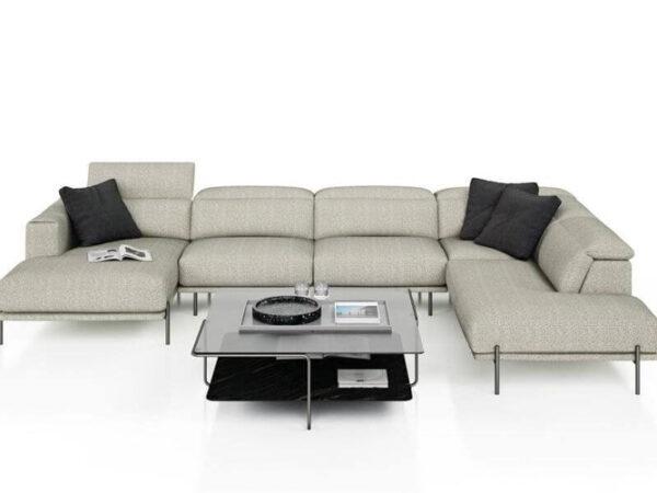 Olta minksti baldai kampine sofa Spectra
