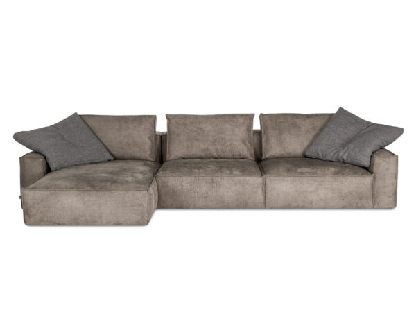 Robust kampines sofa Bellus minksti baldai