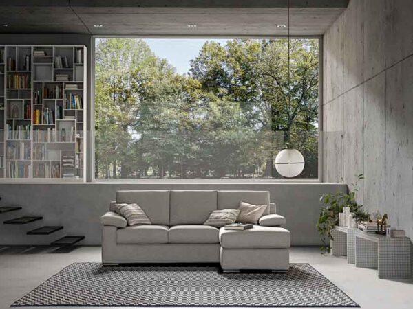Samoa divani minksti baldai Chris kampinė sofa