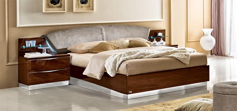 camelgroup miegamojo baldai lova Onda Walnut