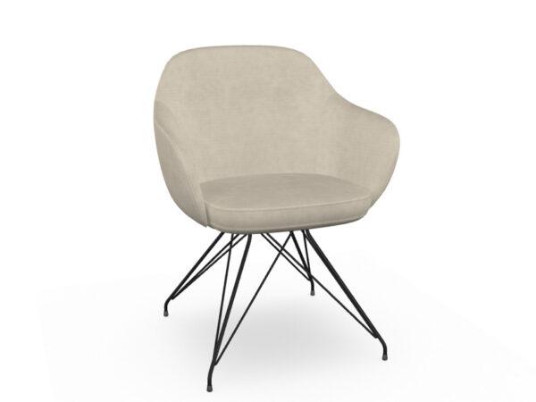 itItaliski valgomojo baldai kede-Cadira Wire Z01