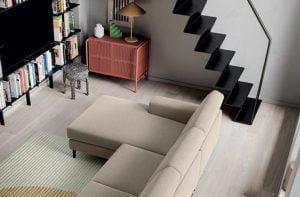 italiski minksti baldai Liam kampine sofa 1