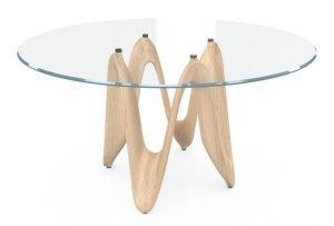 italiski valgomojo baldai stalas-LAMBDA TETE RF