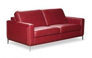 kler baldai dviviete sofa can can raudona minksti baldai (1)