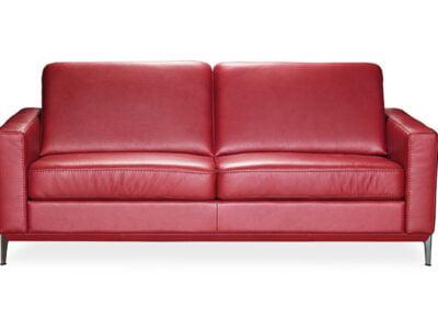 kler baldai dviviete sofa can can raudona minksti baldai (2)
