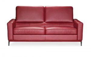 kler baldai dviviete sofa can can raudona minksti baldai (3)