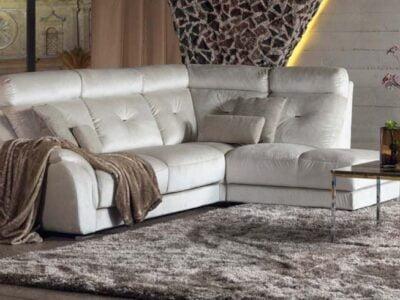 minksti baldai kampine sofa aksomine sincope
