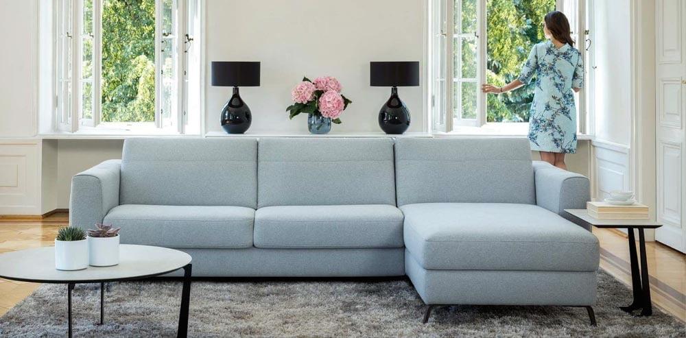 minksti baldai kampine sofa bolero kler baldai
