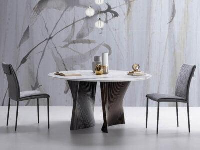 natisa italiski baldai valgomojo stalas SHELL