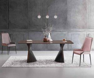 natisa italiski valgomojo baldai stalas BOW