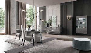 ALF ITALIA italiski valgomojo baldai novecento stalas ir kedes (2)