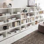 Alf italia itališki baldai svetaines ir valgomojo baldai Artemide knygu lentyna (2)