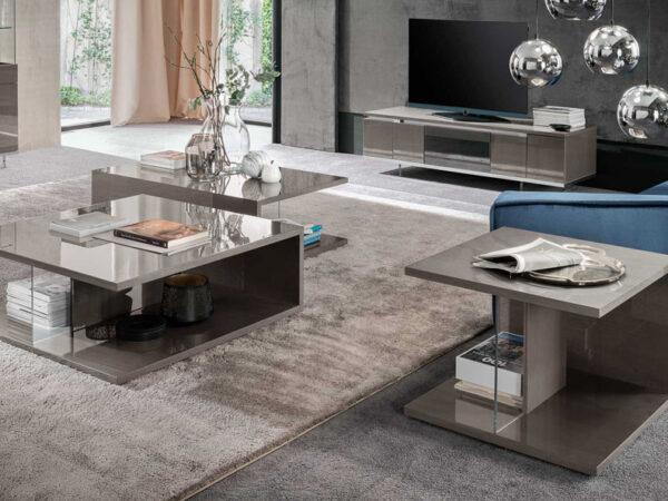 Alf italia itališki svetainės baldai Athena kavos ir žurnalų staliukas (1)-2