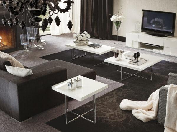 Alf italia itališki svetainės baldai kavos ir žurnalų staliukas Canova (2)