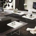 Alf italia itališki svetainės baldai kavos ir žurnalų staliukas Canova (3)