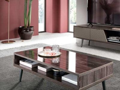 Alf italia itališki svetainės baldai kavos ir žurnalų staliukas Frida (1)-2