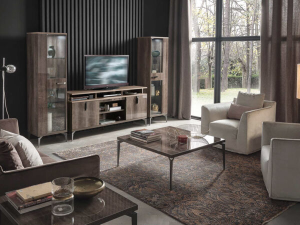 Alf italia itališki svetainės baldai kavos ir žurnalų staliukas Matera (4)