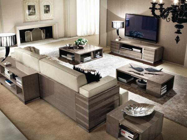 Alf italia itališki svetainės baldai kavos ir žurnalų staliukas Monaco (1)-2