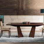 Alf italia itališki valgomojo ir svetainės baldai Bellagio stalas ir kėdė (3)