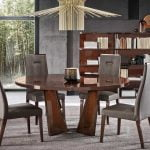 Alf italia itališki valgomojo ir svetainės baldai Bellagio stalas ir kėdė (6)