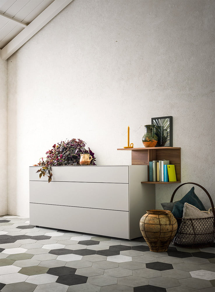 Italiski baldai Fil komoda (1)