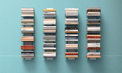 Italiski baldai knygu lentyna Press (4)