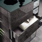 Italiski miegamojo baldai Heritage auksta komoda (1)