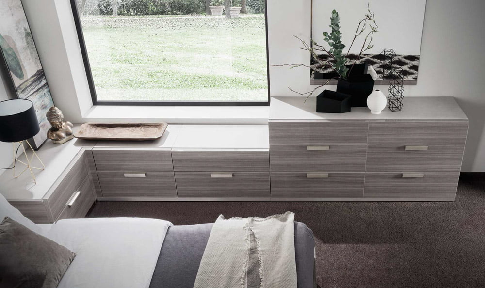 Italiski miegamojo baldai Iris komoda (1)