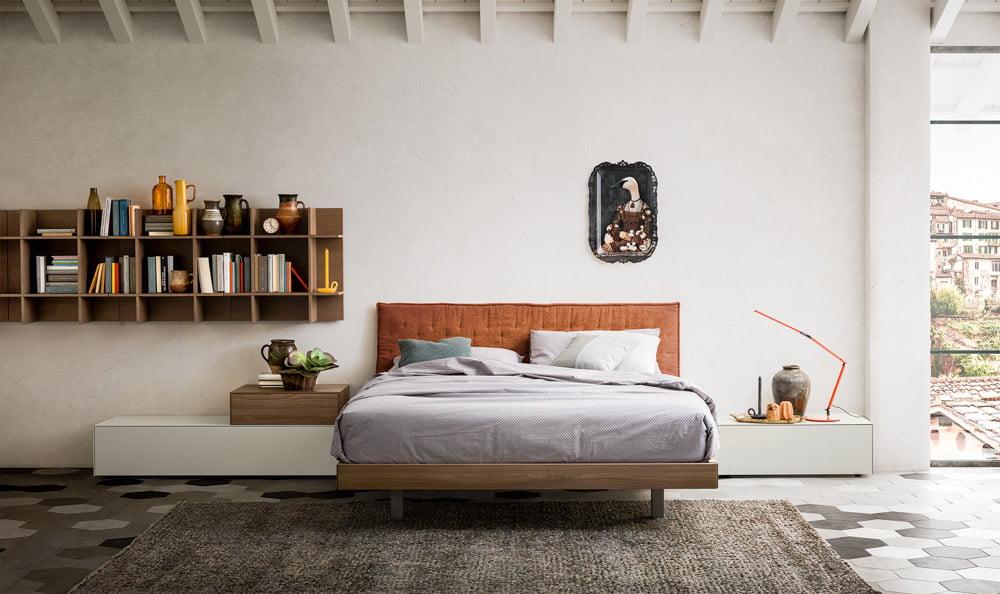 Italiski miegamojo baldai Teo lova (7)