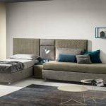 Samoa Divani miegamojo baldai lova pannelli-wall (5)