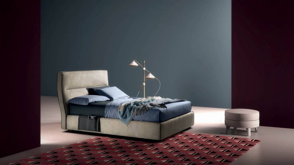 Samoa Divani miegamojo baldai lova wing