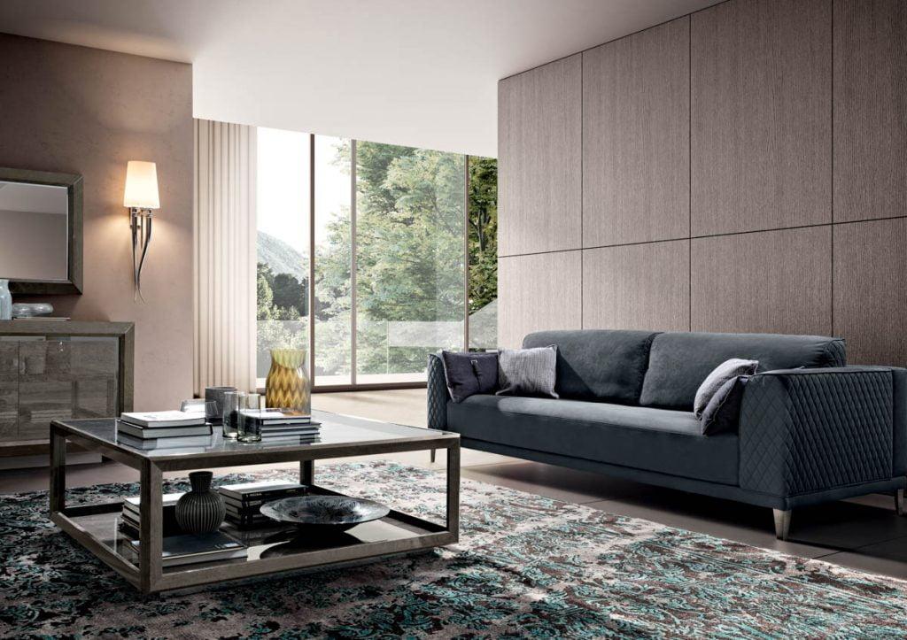 Camelgroup italiski baldai valgomojo komplektas ELITE Day Platinum (11)