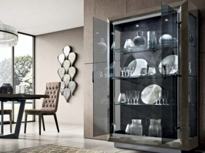 Camelgroup italiski baldai valgomojo komplektas ELITE Day Platinum indauja