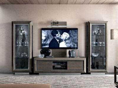 Camelgroup italiski baldai valgomojo komplektas ELITE Day Platinum tv spintelė