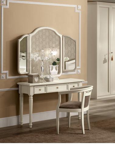 Camelgroup itališki klasikiniai baldai Nostalgia Night Bianco kosmetinis staliukas