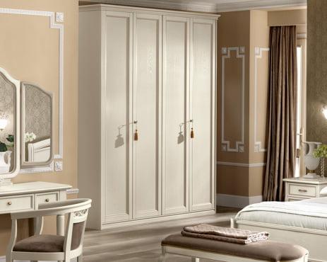 Camelgroup itališki klasikiniai baldai Nostalgia Night Bianco spinta 1
