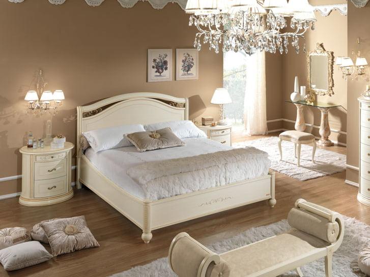 Camelgroup itališki klasikiniai baldai Siena Arena Ivory lova 1