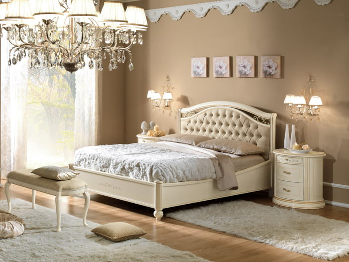 Camelgroup itališki klasikiniai baldai Siena Arena Ivory lova