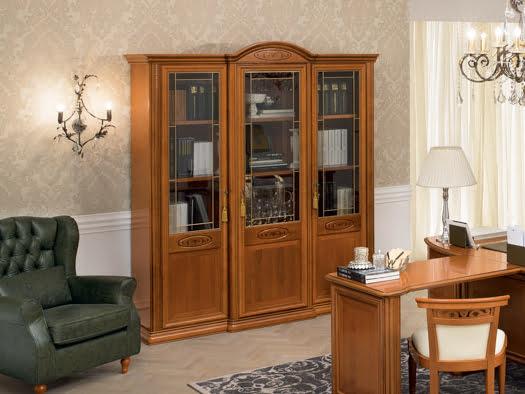 Camelgroup itališki klasikiniai baldai Siena Cherry Home lentyna