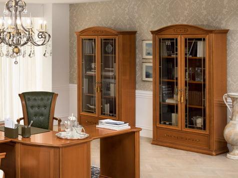 Camelgroup itališki klasikiniai baldai Siena Cherry Home lentynos