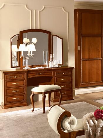 Camelgroup itališki klasikiniai baldai Torriani Walnut kosmetinis staliukas