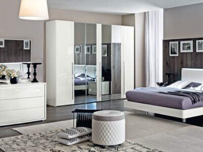 Camelgroup itališki miegamojo baldai Dama Bianca (7)