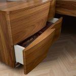 Camelgroup itališki miegamojo baldai Luna Walnut naktinė spintelė (1)