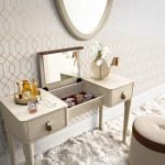 Camelgroup itališki miegamojo baldai kosmetinis staliukas ir pufas (2)