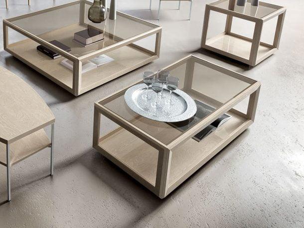 Camelgroup itališki svetainės baldai Elite Day Sabbia staliukas 2