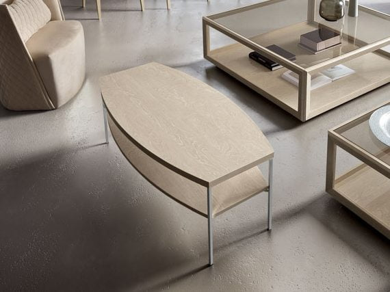 Camelgroup itališki svetainės baldai Elite Day Sabbia staliukas 1