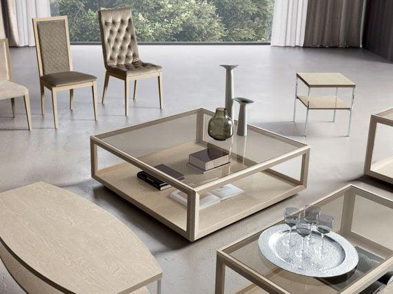 Camelgroup itališki svetainės baldai Elite Day Sabbia staliukas