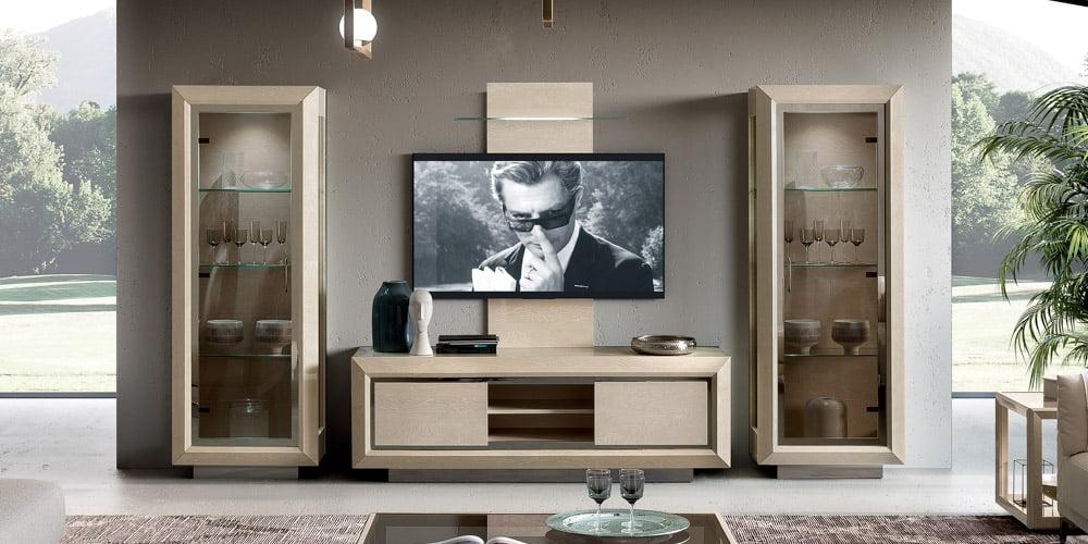 Camelgroup itališki svetainės baldai Elite Day Sabbia tv staliukas
